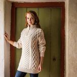 Women's Kinnagoe Aran Sweater