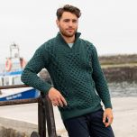 Men's Kinnagoe Aran Sweater