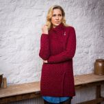 The Moy Cable Aran Coat