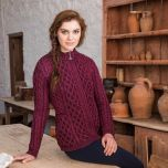 The Kenmare Aran Cardigan