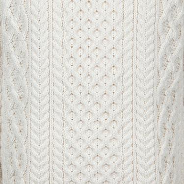 Exquisite Aran Craftsmanship Sweater