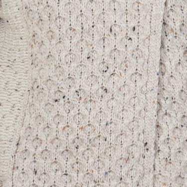 honeycomb aran stitich coat