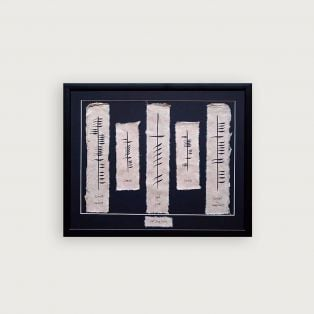 Personalized Wedding Ogham - Love, Health & Happiness