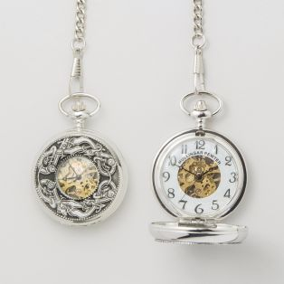 Personalized Mullingar Pewter Kells Pocket Watch