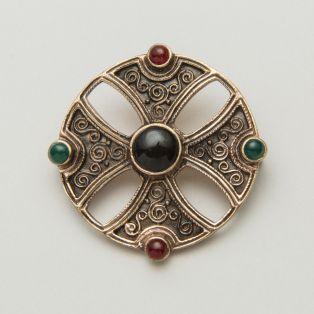 Celtic Bronze Shield Brooch