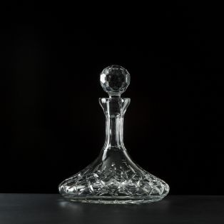 Galway Crystal Longford Ships Decanter