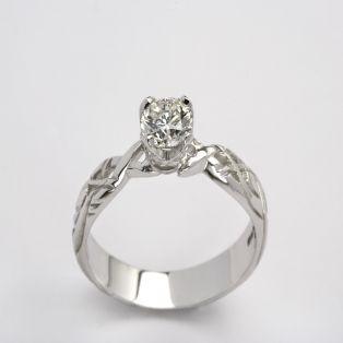 Ladies 0.50 Diamond Celtic Livia Collection Ring