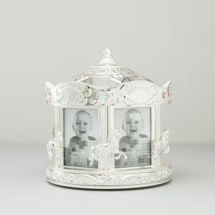 Rotating Carousel Baby Photo Frame