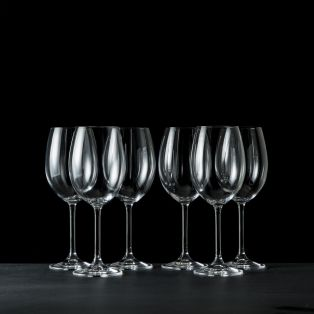 Tipperary Crystal Connoisseur Glasses Set of 6