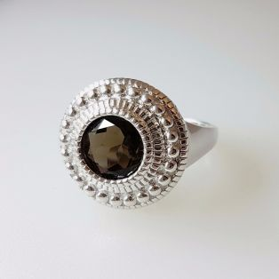 The Aran Amethyst Ring