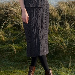 The Annagh Aran Skirt