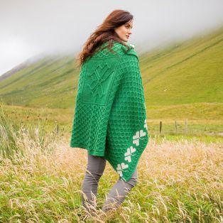 Shamrock Merino Wool Blanket