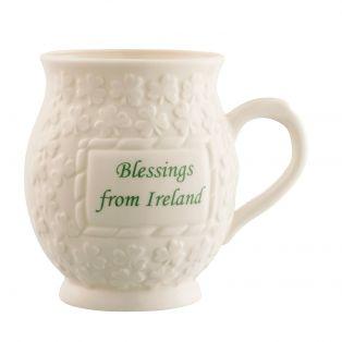 Belleek Blessing from Ireland mug