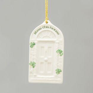 Belleek Irish Blessing Christmas Ornament
