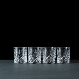 Galway Crystal Renmore Whiskey Glasses Set of 4
