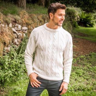 Men's Connacht Aran Sweater