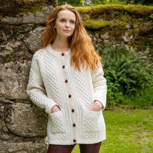 Women's Malone Aran Sweater