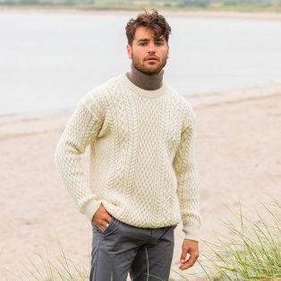 The Slievemore Aran Sweater