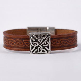 The Braden Celtic Cuff Bracelet