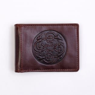 The Fergal Leather Money Clip
