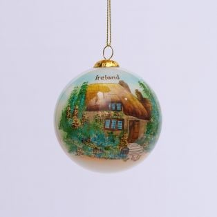 Luxury Irish Christmas Bauble Set