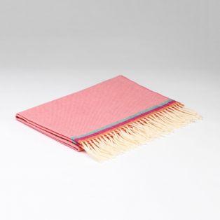 McNutt Flamingo Pink Baby Blanket