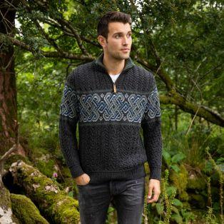 Mens Newgrange Celtic Sweater