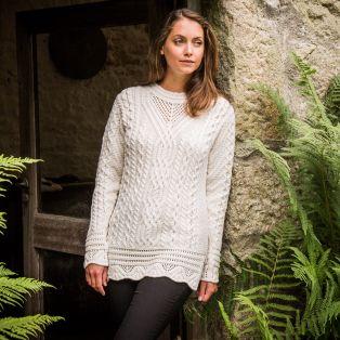 The Achill Aran Tunic Sweater
