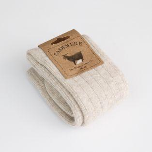Ladies Cashmere Blend Irish Wool Socks