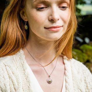Silver Solstice Celtic Knot Pendant