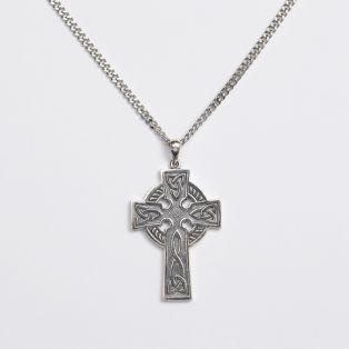 Mens Celtic Cross Pendant