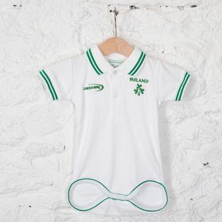 Ireland Shamrock Crest Baby Vest