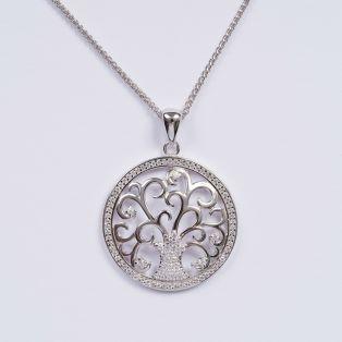Tree of Life Silver Pendant