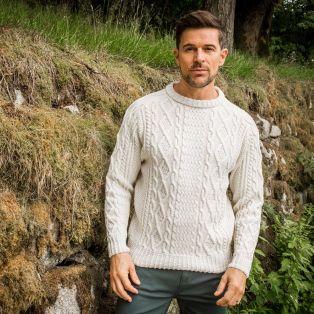 Men's Ulster Aran Sweater