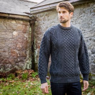 Springweight New Wool Crew Neck Sweater