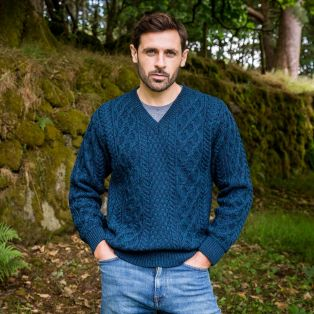 The Raphoe Aran Sweater
