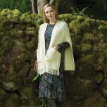 Merino Wool Pocket Shawl