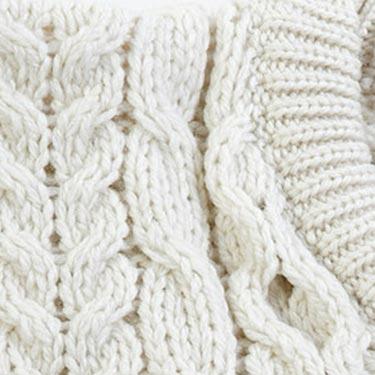 Donegal Merino Wool Design Sweater