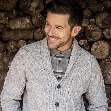 Modern Aran Style Sweater
