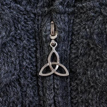 Celtic touch aran coat