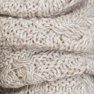 soft merino wool hooded aran sweater