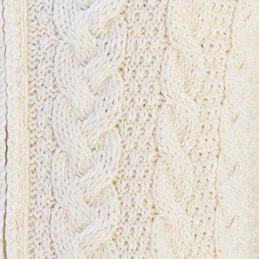 Cable stitich aran sweater