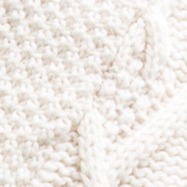 soft merino wool v-neck aran sweater