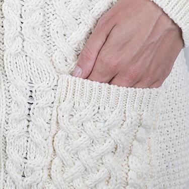 Luxurious Merino Yarn boyfriend cardigan